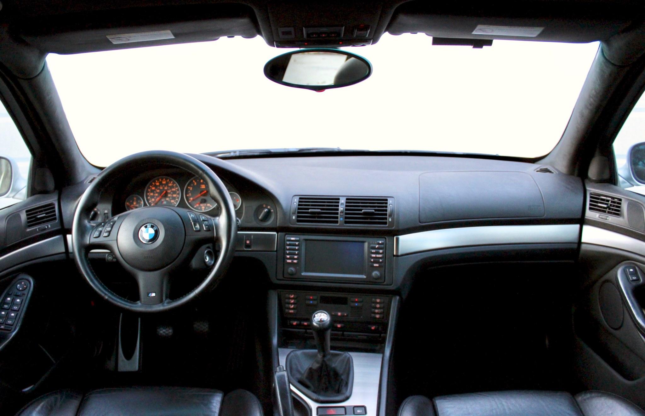 BMW E39 European Style Dashboard Vinyl Black  BMW