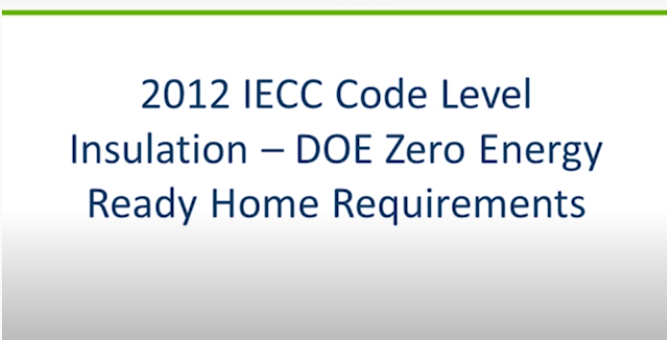 Level 1 Insulation Installation