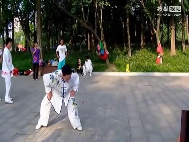 健身氣功八段錦 八段錦教學視頻(六分鐘)[高清版]-體育視頻-搜狐視頻