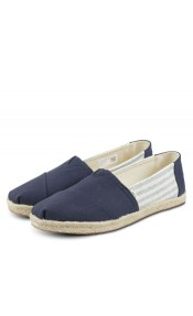 Toms Navy Ivy League Stripes 10013504 Σκούρο Μπλε