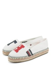 Tommy Hilfiger TH Patch Espadrille FW03846 093-0095440 Λευκό