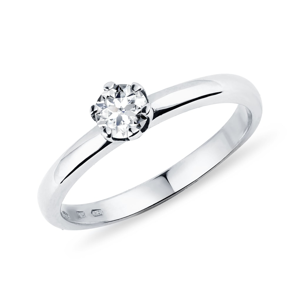 Verlobungsring mit Diamant  KLENOTA