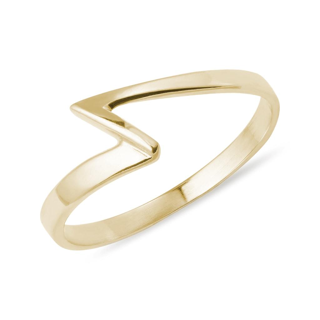KLENOTA  Gelbgold Ring  Ringe Gelbgold  Schmuck  mit Liebe gemacht