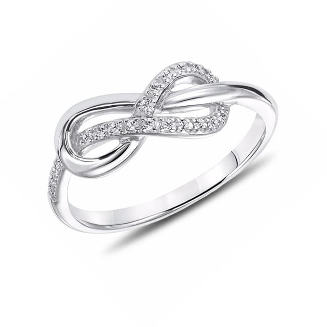 KLENOTA  Silber Ring Unendlichkeit  Ringe Silber  Schmuck  mit Liebe gemacht