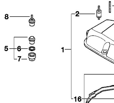Bmw Valve Cover Gasket Kit, Bmw, Free Engine Image For