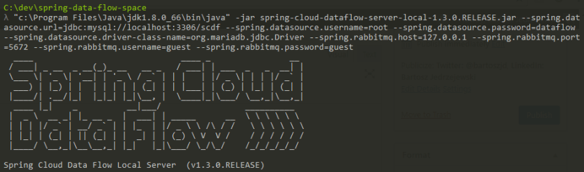 Getting Started with Spring Cloud Data Flow | E4developer