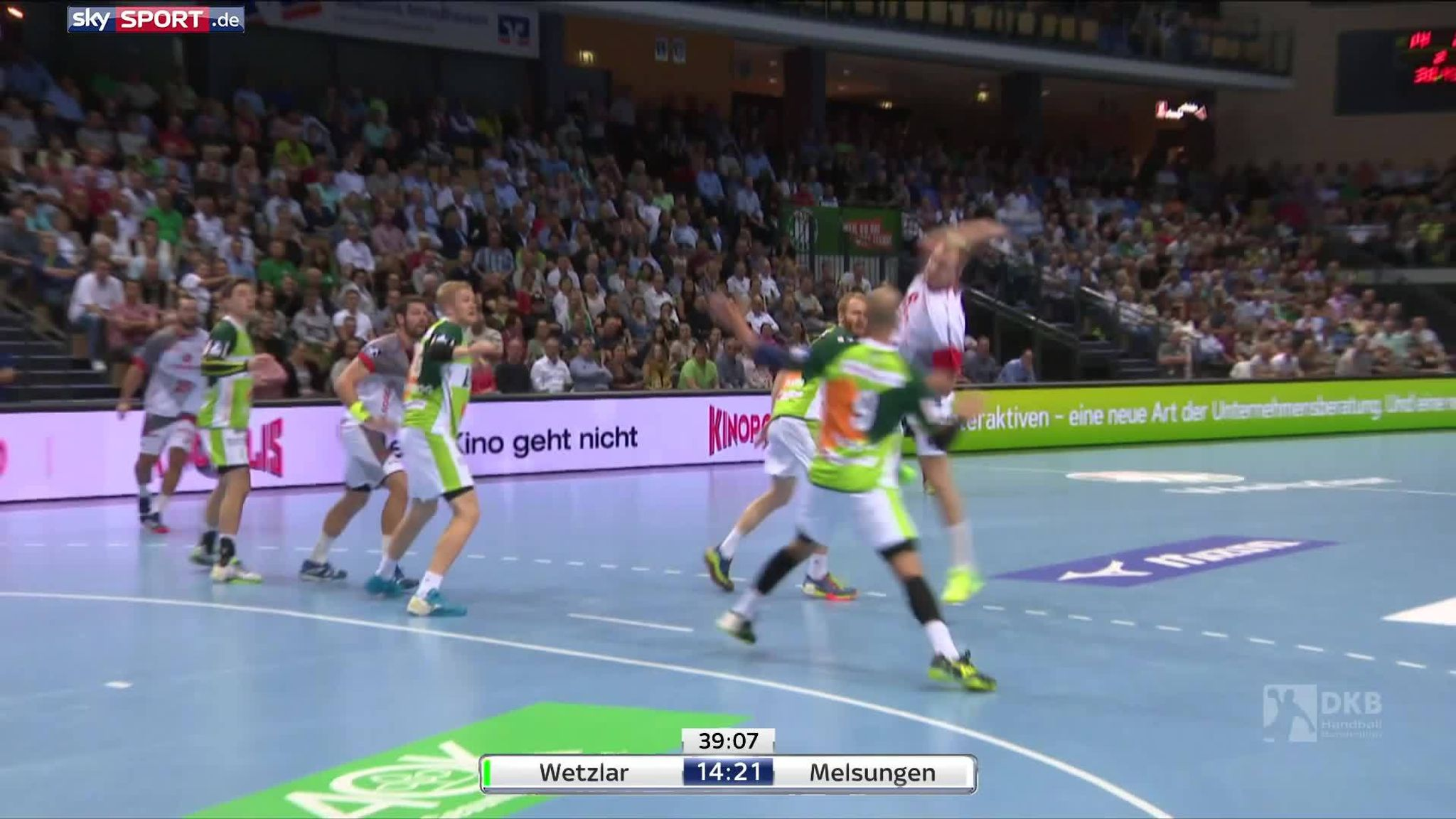 Kino Wetzlar Hsg Wetzlar Mt Melsungen Alle Highlights Im Video
