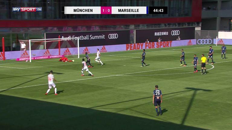 Fc Bayern München Siegt Im Testspiel Gegen Olympique