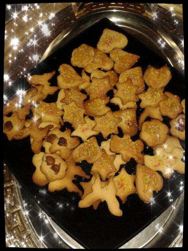 Sablés de Noël au miel