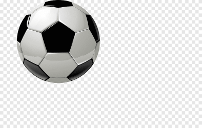 Black and white cartoon football ball football png PNGEgg