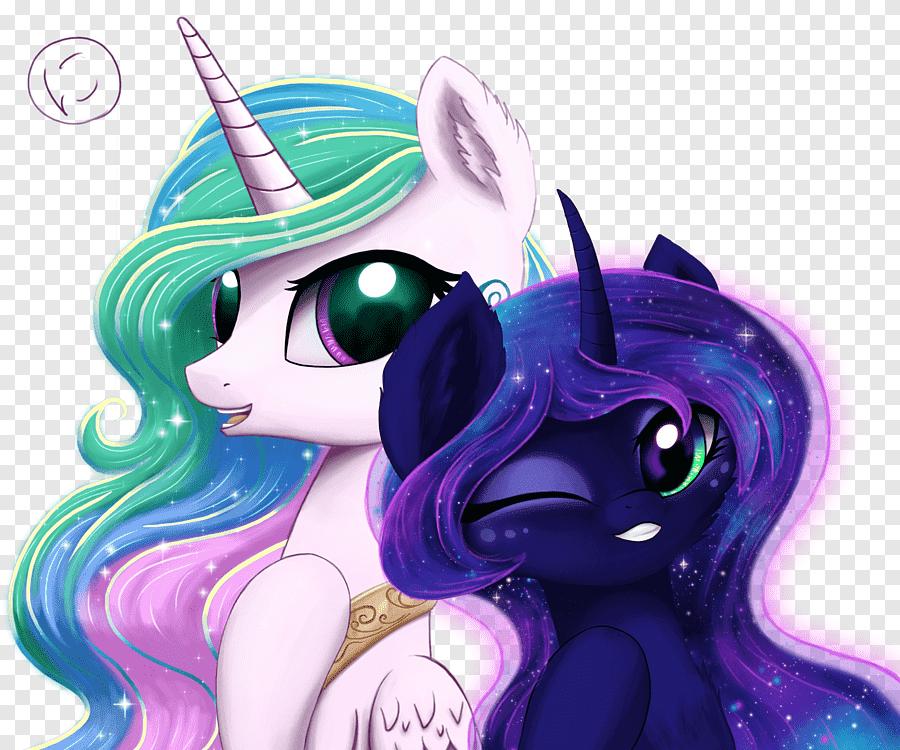 Princess Luna My Little Pony Twilight Sparkle Princess Celestia My Little Pony Purple Television Png Pngegg