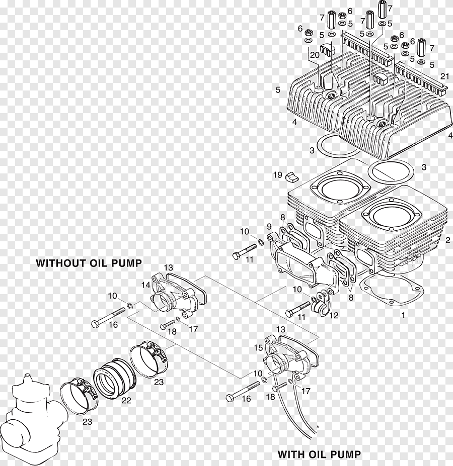 Rotax 503 Wiring Diagram : Aviasport Rotax 503 582 Ducati