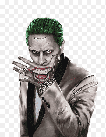 Joker Face Paint Suicide Squad : joker, paint, suicide, squad, Joker,, Joker, PNGEgg
