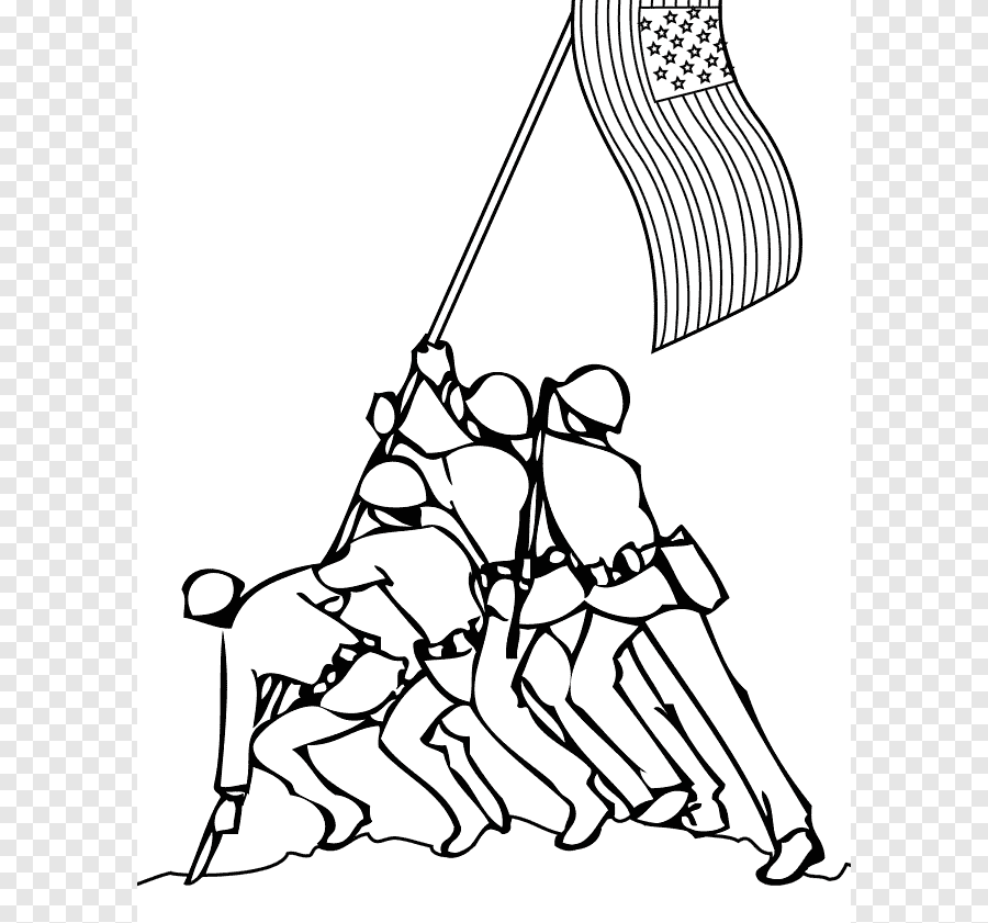 Memorial Day Coloring Book Coloring Pages For Kids Veterans Day Child Best Memorial Day S White Child Png Pngegg
