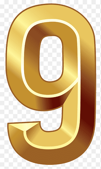 Angka 9 Png : angka, Icon,, PNGEgg