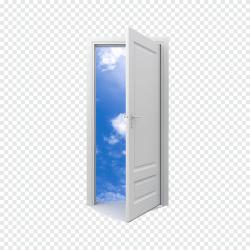 Open door white door wooden door png PNGEgg