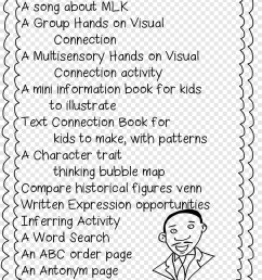 Black History Month First grade Martin Luther King Jr. Day Worksheet [ 1274 x 900 Pixel ]