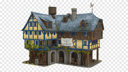 Middle Ages Tavern Medieval architecture Inn medieval building interior Design Services png PNGEgg