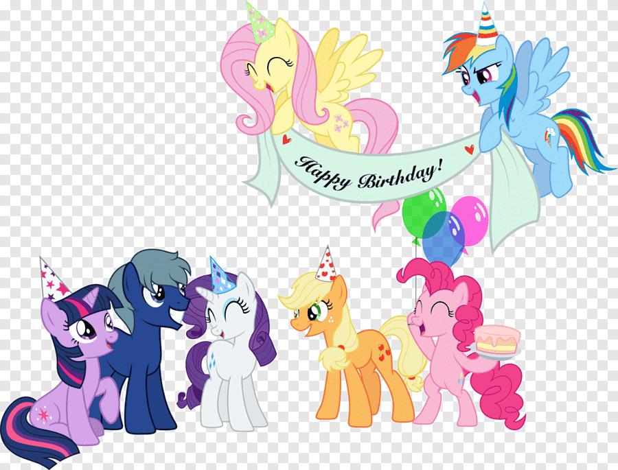 birthday horse mammal png
