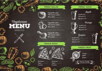 Vegetarian menu ads Vegetarian cuisine Menu Cafe Drawing Food menu design hotel recipe happy Birthday Vector Images png PNGEgg