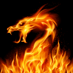 Fire Dragon I flame dragon special Effects png PNGEgg