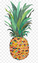 Pineapple Piña colada Upside down cake Drawing Painting Pineapple outline watercolor Painting pencil png PNGEgg
