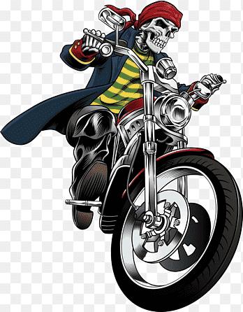 Naik Motor Png : motor, Motorcycle, Helmet, Euclidean,, Skull, Pattern,, Racing,, Bicycle, PNGEgg