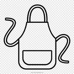 Delantal dibujo libro para colorear cocina cocina diverso cocina png PNGEgg