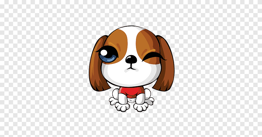 Cute Dog S Pet Cartoon Puppy Png Pngegg