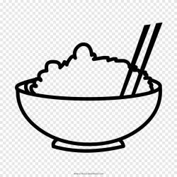 Libro para colorear dibujo onigiri sushi arroz espiga de arroz sopa comida png PNGEgg