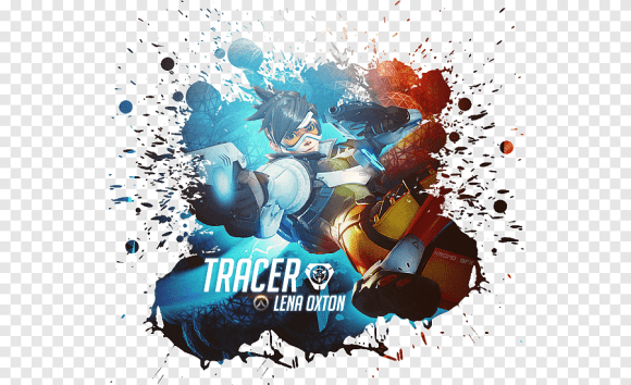 Overwatch Game Characters Reddit Guide Unofficial Illustration Graphic Design Overwatch Hardcover Ruled Journal Tracer Blink Computer Poster Png Pngegg