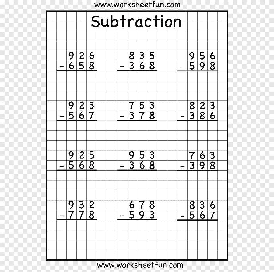 medium resolution of Regrouping Subtraction Third grade Worksheet Numerical digit