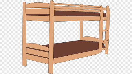 Bunk bed Bed making Cartoon Bed s angle furniture png PNGEgg
