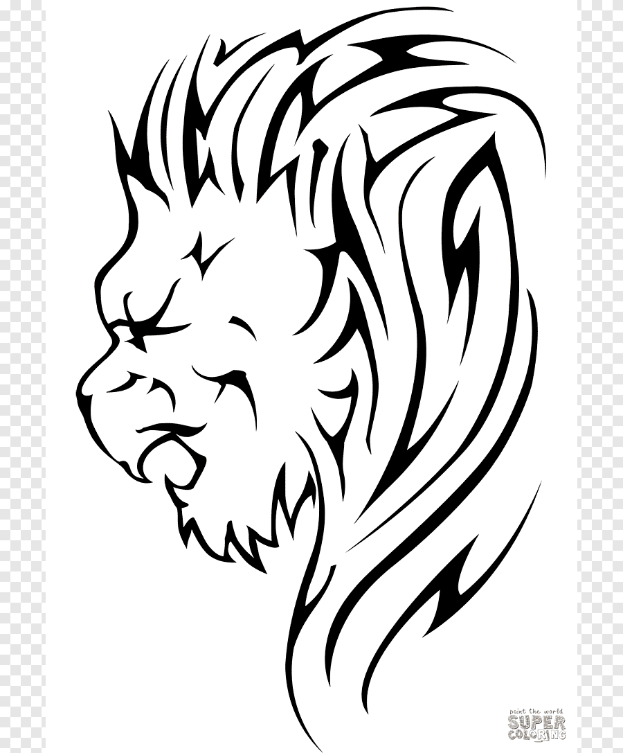 Gambar Singa Hitam Putih : gambar, singa, hitam, putih, Kelinci, Lionhead,, Singa,, Putih,, Mamalia, PNGEgg