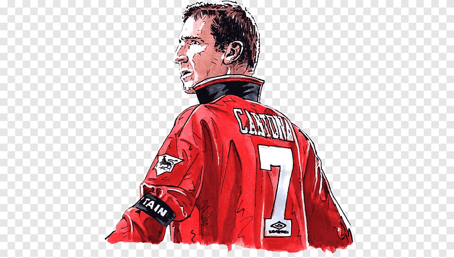 Sir alex ferguson said he wasn't for sale, but,. Eric Cantona Arsenal F C Manchester United F C Rivalry Leeds United F C Football Eric Cantona Jersey Fictional Character Png Pngegg