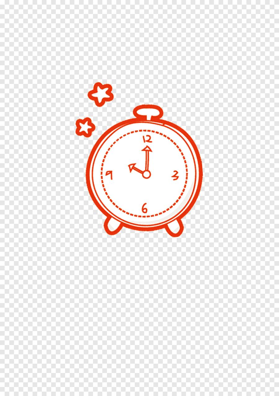 Ikon Jam Png : Penggandaan, Pembagian, Siswa, Alarm,, Garis, Merah, Putih,, Elektronik, PNGEgg