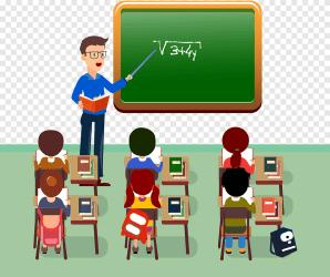 Blackboard cartoon teachers cartoon teacher png PNGEgg