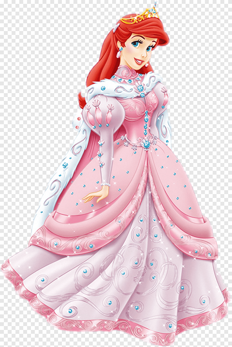 Ariel Belle Princess Aurora Minnie Mouse Mickey Mouse Ariel S Disney Princess Cartoon Png Pngegg