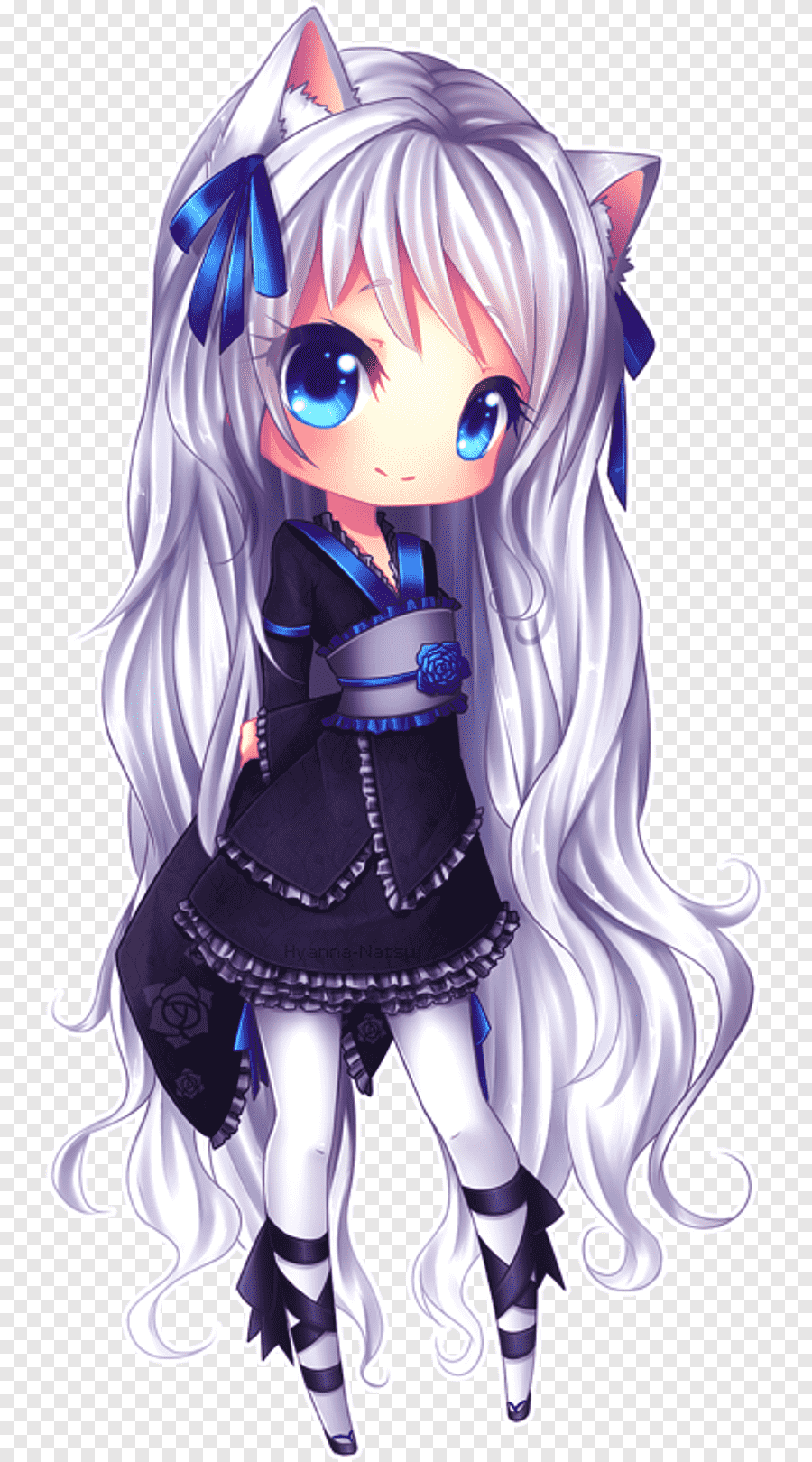Chibi Anime Cat Girl : chibi, anime, Catgirl, Images, PNGEgg
