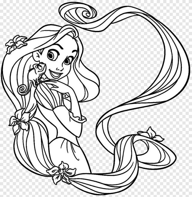 Livre de coloriage Disney Princess Dessin, princesse, blanc