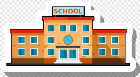 School Building png images PNGEgg