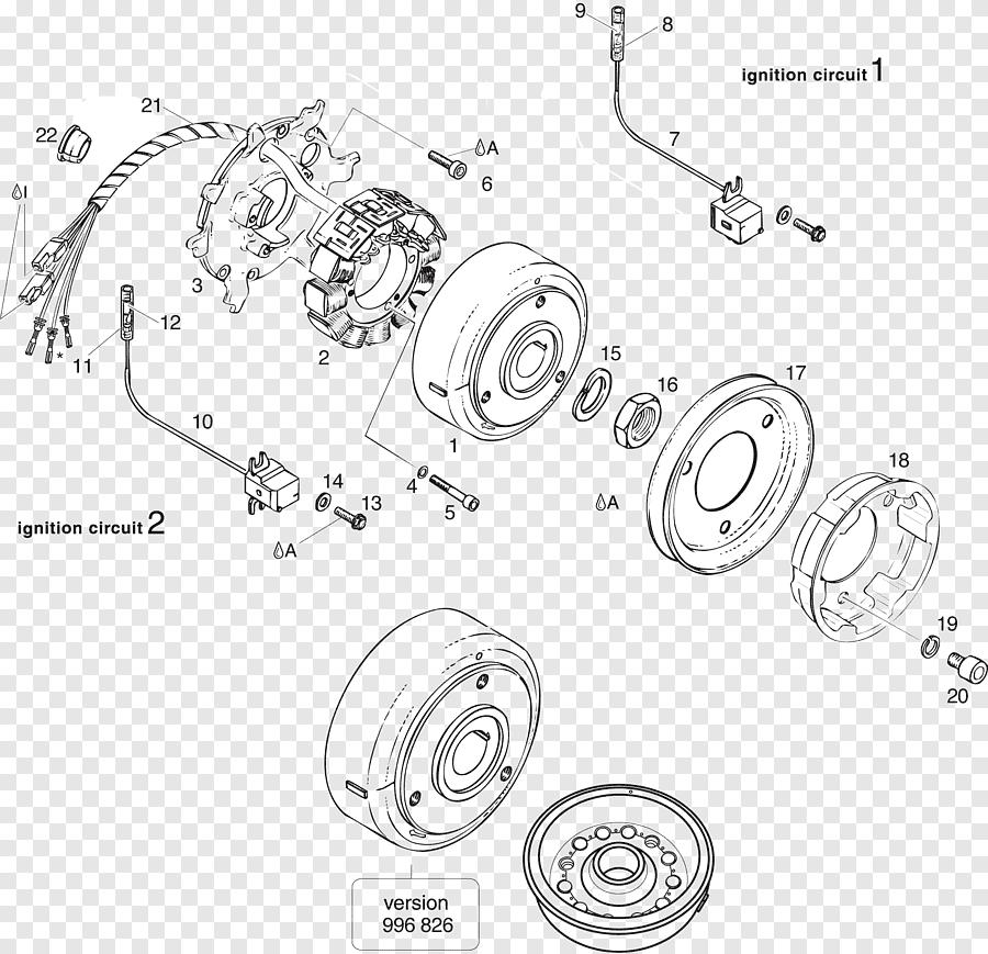 Rotax 503 Magneto BRP-Rotax GmbH & Co. KG Schemat