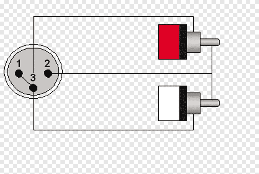 Mini Xlr Connector Wiring Diagram / Balanced Cables : The
