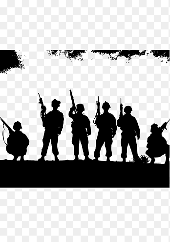 Pejuang Indonesia Vector : pejuang, indonesia, vector, Soldier, First, World, Soldiers,, People,, Monochrome, PNGEgg