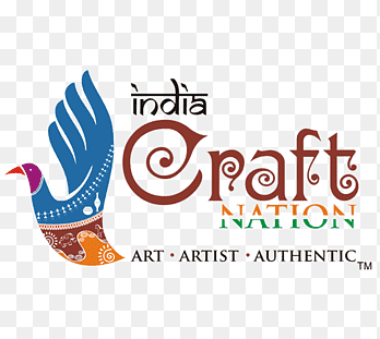 India Craft Nation Handicraft Logo Veg Thali Text Logo Png Pngegg