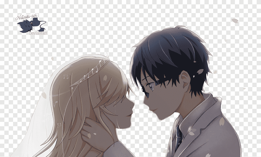 your lie in april manga poster png