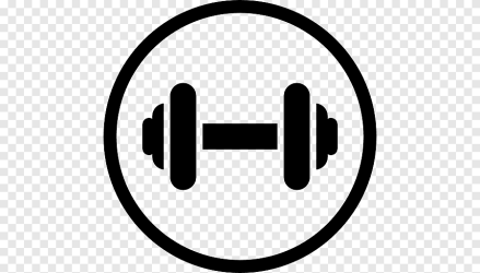 Fitness centre Computer Icons Dumbbell Weight training gym physical Fitness text png PNGEgg