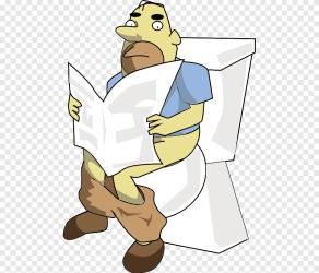 Toilet & Bidet Seats Bathroom Cartoon toilet comics furniture png PNGEgg