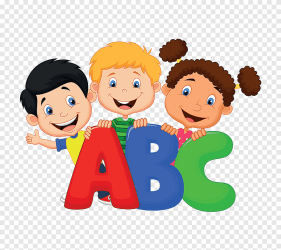 School Cartoon english alphabet dimensional characters child hand png PNGEgg