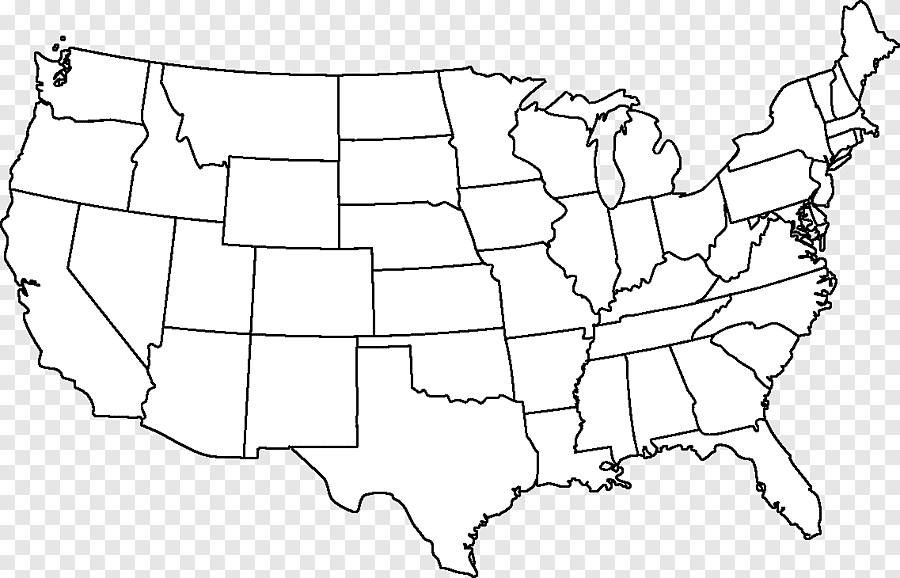 Outline Of The United States Blank Map Alaska Hawaii Map Border Angle Png Pngegg